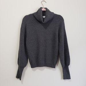 Leith Dolan sleeve super soft turtle neck sweater